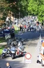 Bild 390 vom Bikergottesdienst Bad Doberan 2009