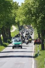 Bild 549 vom Bikergottesdienst Bad Doberan 2009