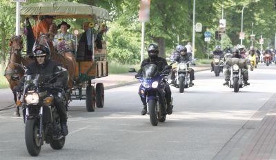 Herrentagsausfahrt der Rostocker Motorradfreunde